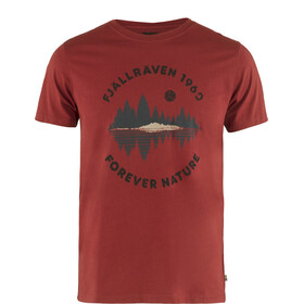 Fjällräven Forest Mirror T-Shirt Men, deep red